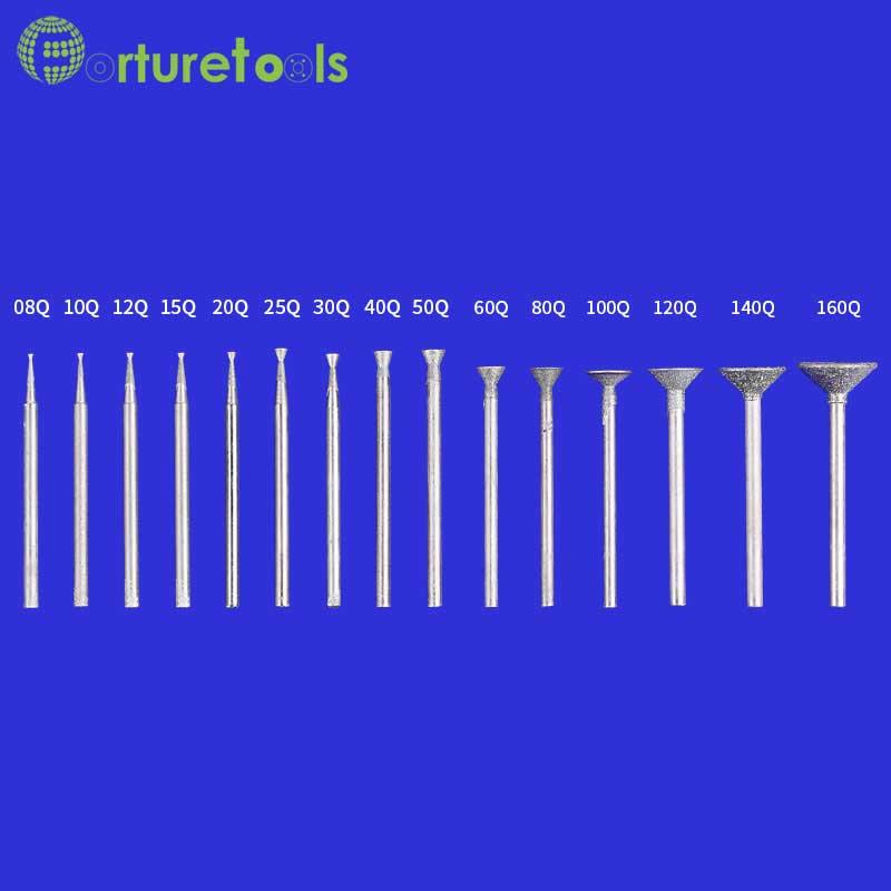 50 tk teemandiga kinnitatavad dremeli pöörlevad tööriistale - Abrasiivtööriistad - Foto 2