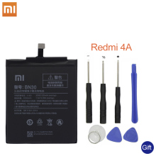 Xiao Mi Original Phone battery For Xiaomi Redmi 4A Battery BN30 3120mAh Redrice Hongmi Bateria  High Quality+Tools