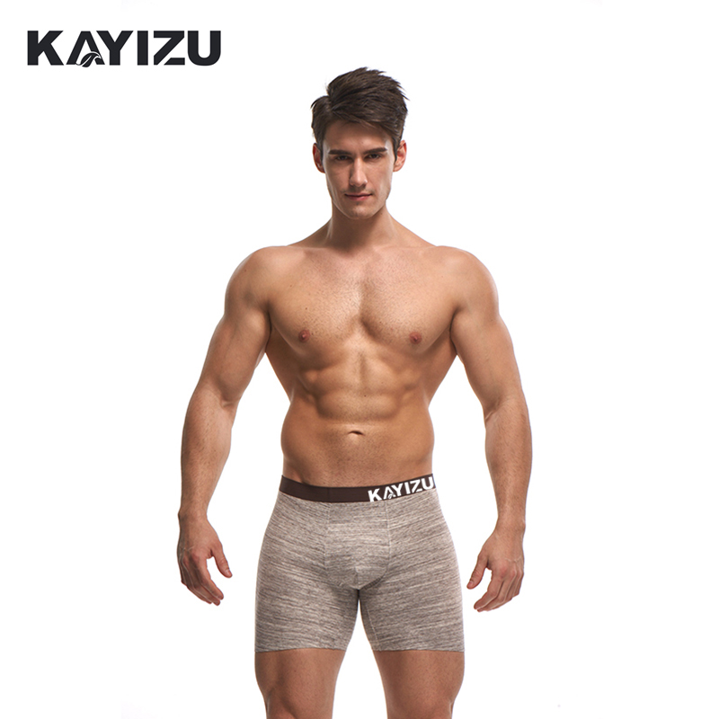 KAYIZU Male Underwear Shorts Sexy Men Underwears Panties Gay Comfortable Gift Underpants Mens Sexy Plus Size Boxer Cuecas