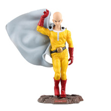 ONE PUNCH MAN Action Figures Saitama Sensei PVC 240mm PUNCH-MAN Model Toys Anime Doll 5D