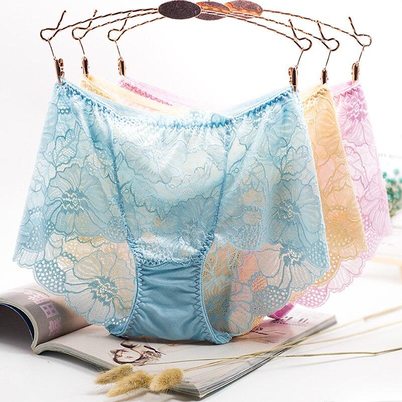 PRTYWB plus size underware women briefs ropa interior femenina tnasparent briefs sexy panties lingerie calcinha bielizna damska