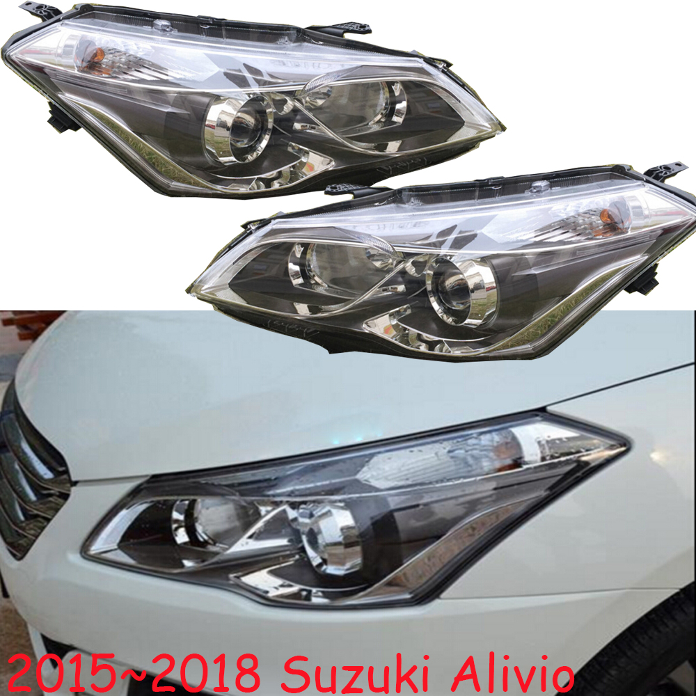 HID,2015~2016,Car Styling for Alivio Headlight,Aerio,Ciaz,Reno,kizashi,s-cross,samurai,Forenza,Equator,sidekick,Alivio head lamp магазин где можно купить машину reno