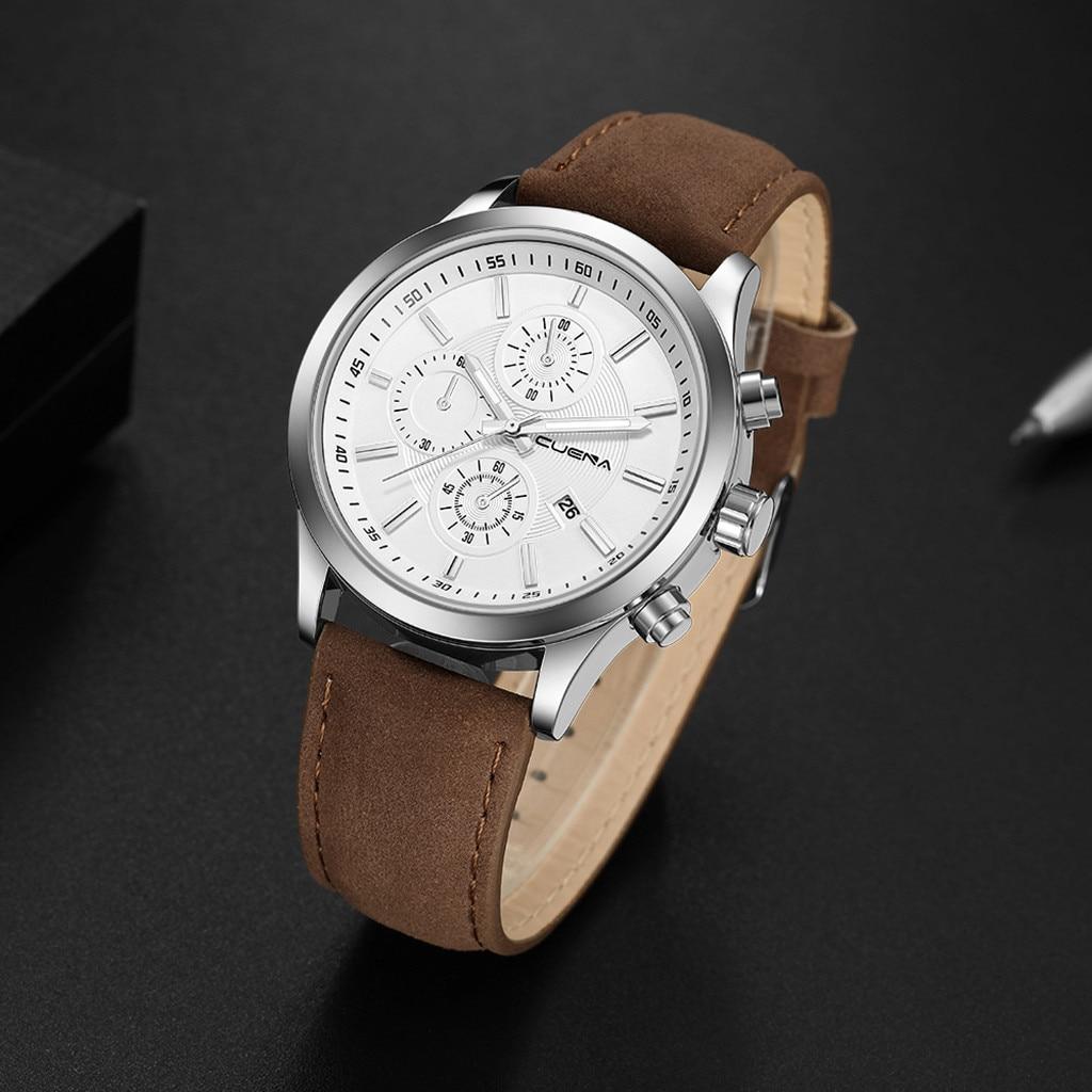 HTB1KIO.affsK1RjSszgq6yXzpXa3 Fashion mens watches top brand luxury business sport quartz wrist watch leather watchband women watches ladies dress clock USPS
