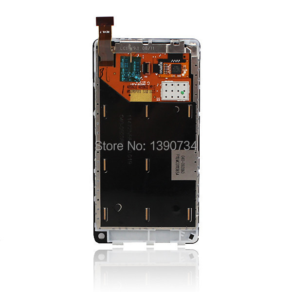 TOP Quality Full LCD Display Touch Screen Digitizer Assembly For Nokia N9 Replacement Repair Free shipping