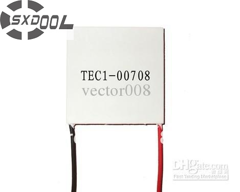 SXDOOL Cooling!Peltier 10mm TEC1-00708 Thermoelectric Cooler Peltier Plate Peltier Cooling Modules Manufacturer Warranty