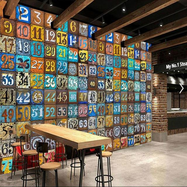 Wall Paper Rolls Photo Wallpaper For Walls Murals Background Creative Retro Digital Huge Wallpapers Home Improvement