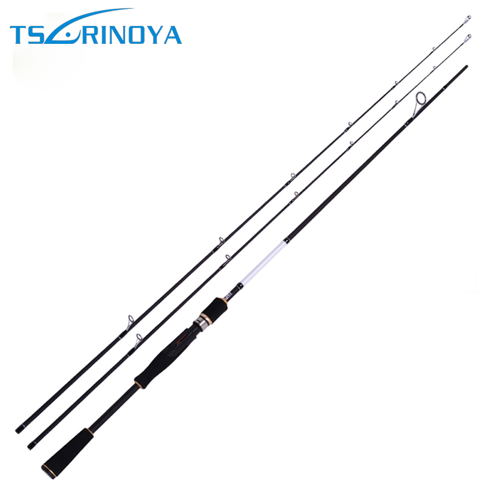 Trulinoya 2.1M 7'0'' Fishing Spinning Rod Carbon Fishing Pole with Two Rod Tips M/ML Power trulinoya 2 1m 7 0 soft carbon spinning fishing rod with two tips m mh power fishing tackle