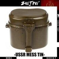 WWII WW2 Soviet Army Original Surplus Messtin Military Lunch Boxes 510201