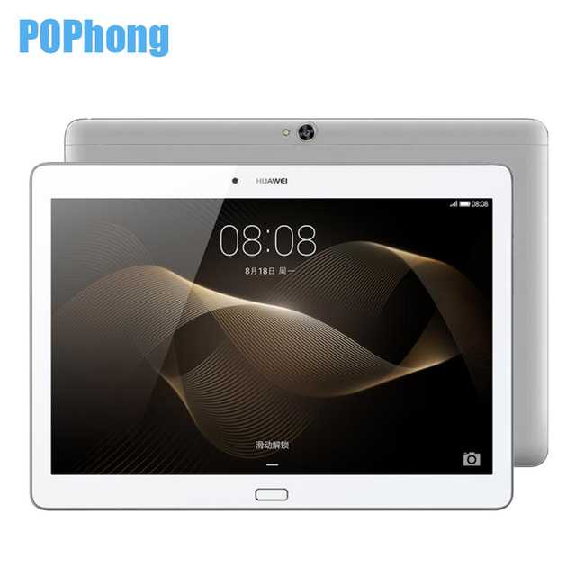 Оригинал huawei mediapad m2 10.0 3 ГБ 16 ГБ tablet pc hisilicon кирин 930 octa ядро 10.1 дюймов 5mp + 13mp 6660 мАч lte/wi-fi