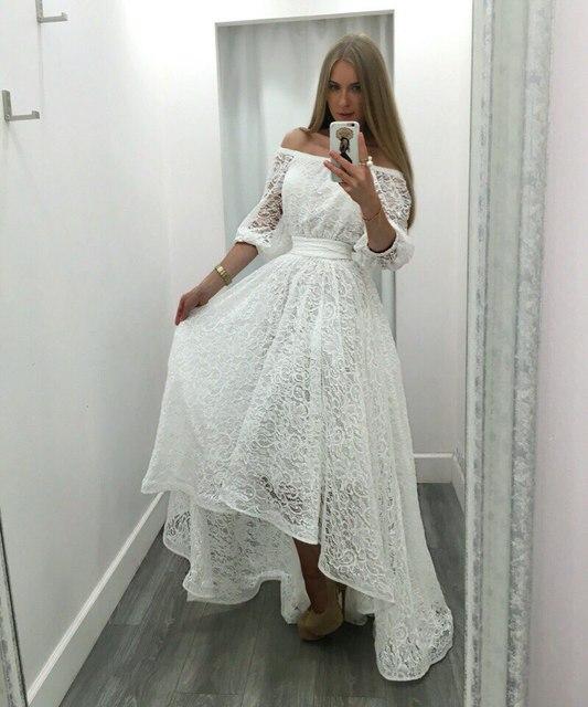 BKLD 2016 Fashion Women's Maxi Dress long Casual Summer Beach Black&White Lace Evening Party Dresses Vestidos De Festa Plus Size