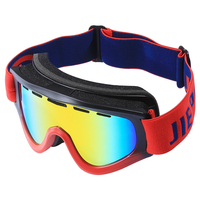 Jiepolly MTB Racing Cycling Sunglasses Motocross Dirt Pit Bike MX Goggles Helmet Comapatable Ski Snowboard Spherical