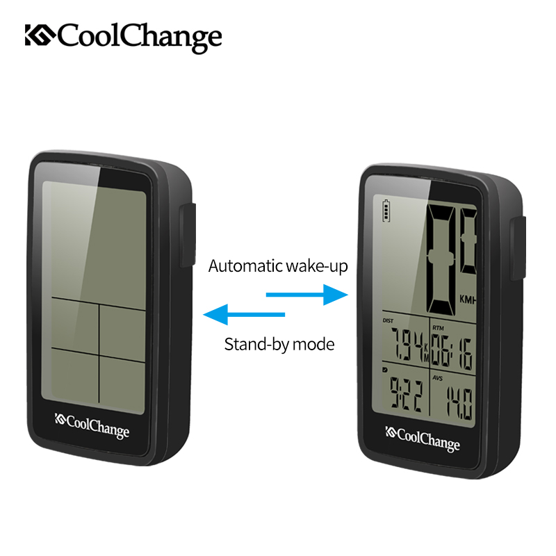 Image 4 - CoolChange Bicycle Computer Wired and Wireless Cycling Computer Speedometer Odometer Rainproof MTB Bike Computer USB RechargableBicycle Computer   -