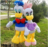 35cm Mickey Mouse Donald Love Duck Plush Doll Toys Tv Movie Character Plush Nano 3 Years