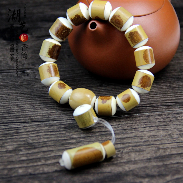 Acura old red sweet princess tube bead string of beads beads manual grinding barrel bead hand series of custom made wholesale