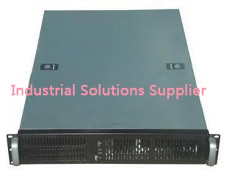 Nouveau 2U550 2U coque d'ordinateur industrielle serveur coque d'ordinateur 7 disque dur 3 ventilateur 550mm de Long