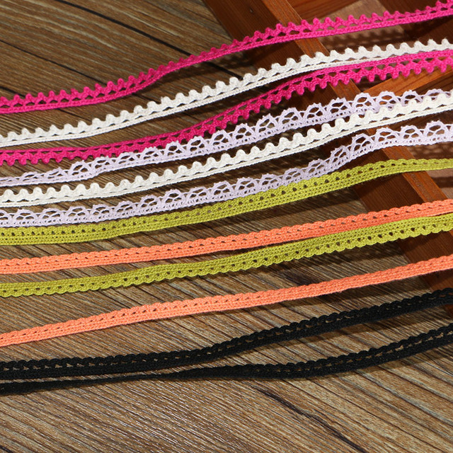 20 Yard Cotton Yarn knitting Lace Accessories 3