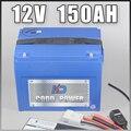 12В 150ач литий-ионный аккумулятор 12В Солнечная светодиодная лампа 1000 Вт 12В RC батарея с корпусом ABS