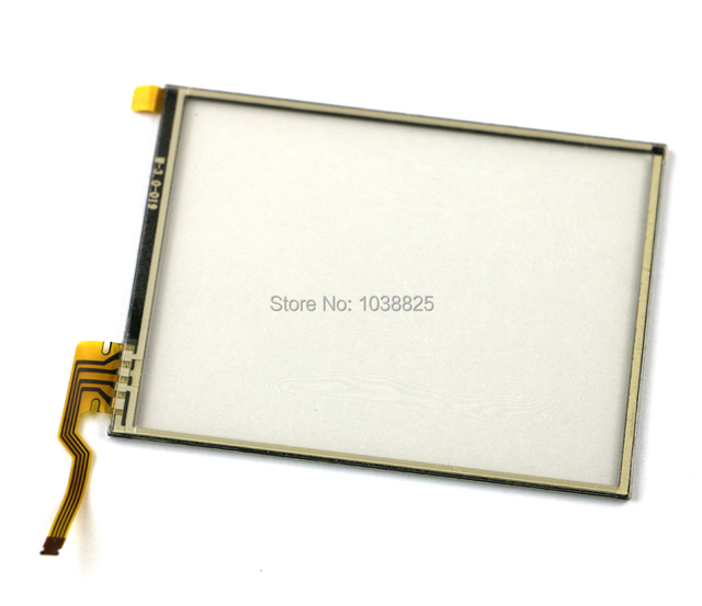 Touch Screen Glass Digitizer Lens Replacement for Nintendo 2DS W Adhesive