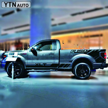 car stickers side body hood scoop styling car quarter panel graphic vinyl car accessories decal custom for ford f150 matt color change vinyl film car wraps hood roof whole body stickers decal with air bubble car styling automobiles accessories