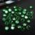 Cor esmeralda Cubic Zirconia Pedras Contas Redondas Suprimentos de Design Para Jóias Unhas 3D Adesivos Art Decorações de Roupas DIY 4-18mm