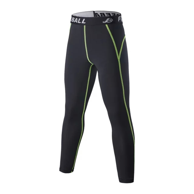 94d8b2742 2015 New Professional Kids Running Compression Pants Sports Children  Football Training Ropa Hombre Fit Trousers Leg Pants Tights