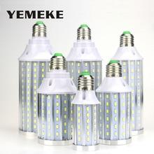High Power E27 LED Corn Light 60/90/108/140/160/210leds 85-265V Lamp Aluminum Long Lifespan 5730 SMD lamp Bulb