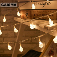 30M 300 Bulbs Ball LED String Lights Decoration Christmas Garland Wedding Fairy Lights For Party Garden Holiday Lighting Outdoor недорого