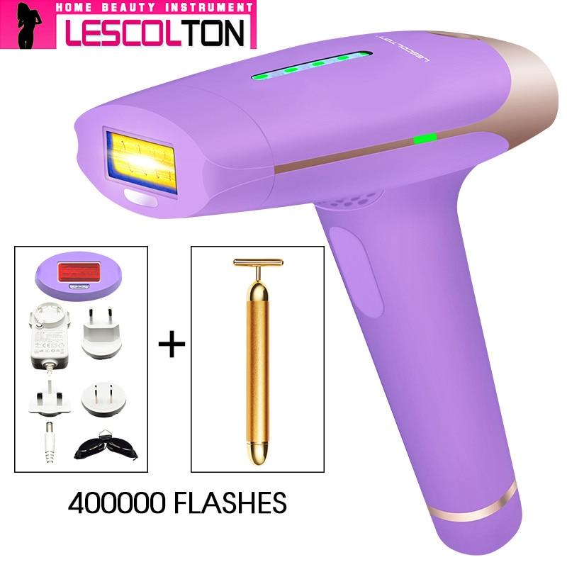 2018 Populær Purple Lescolton Laser Epilator Hårfjerning Photon - Barbering og hårfjerning - Foto 6