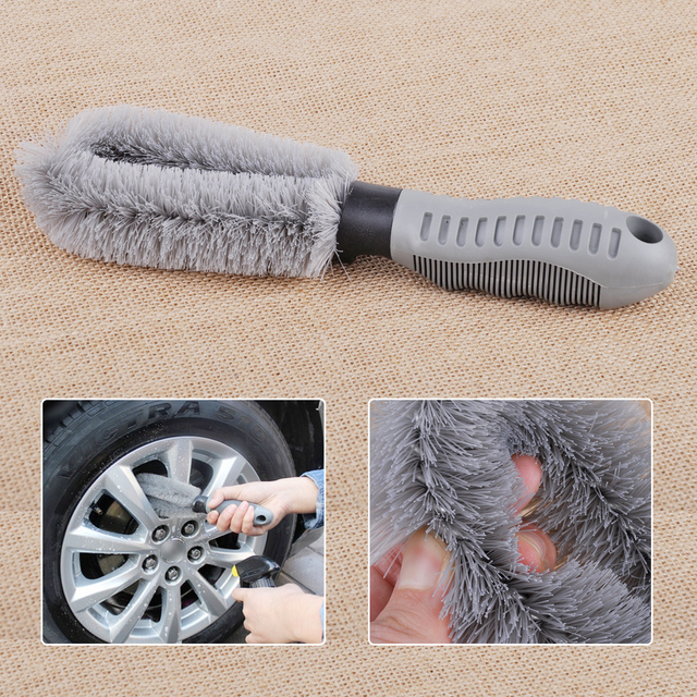 CITALL Car Auto Vehicle Motorcycle Truck Tyre Wheel Wash Scrub Brush Tire Rim Cleaning For Ford Focus Kia Rio VW Golf Audi A4 A6