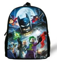 a4404f0ccc 12-inch Mochila Batman Backpack Children School Bags Boys Cartoon Kids  Backpack School Batman Bag Mochila Escolar Menino