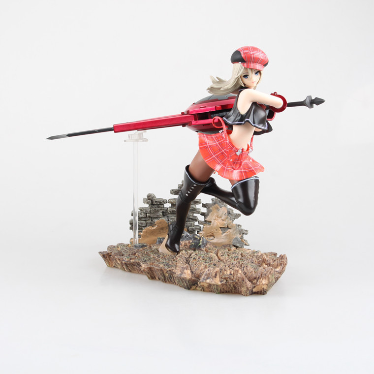 Huong Anime 20 CM God Eater 2 Alisa Ilyinichna Omela Burst Alisa 1/7 Scale Sexy PVC Painted Action Figure Collectible Model Toy