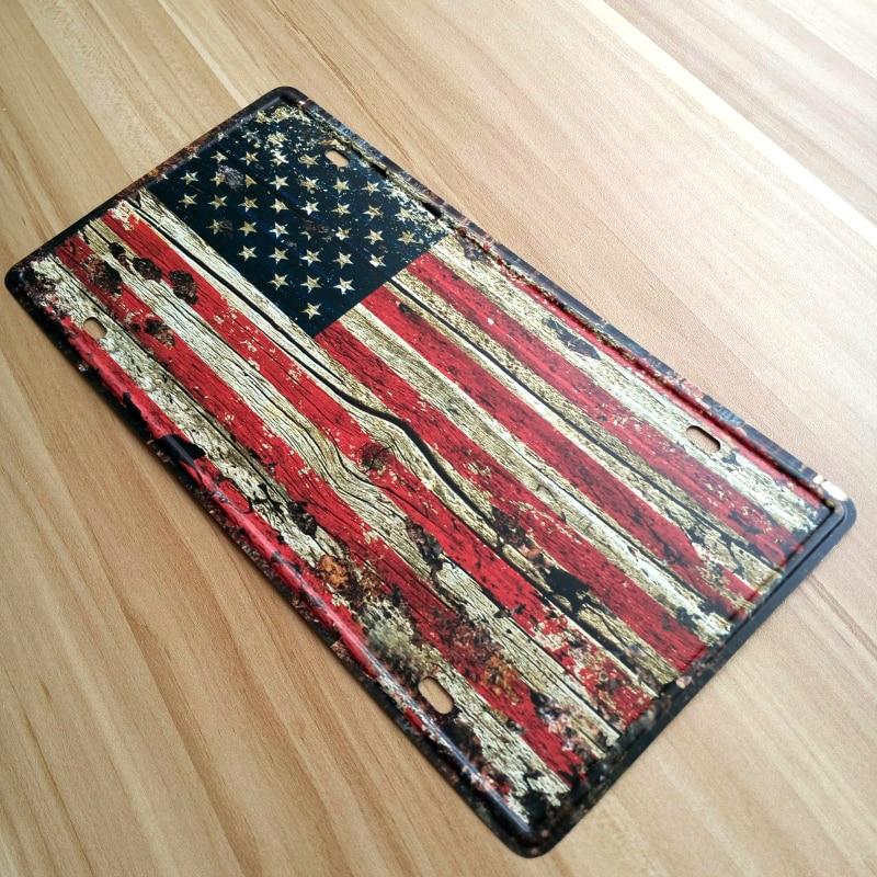 For sale New USA Flag Retro Metal tin
