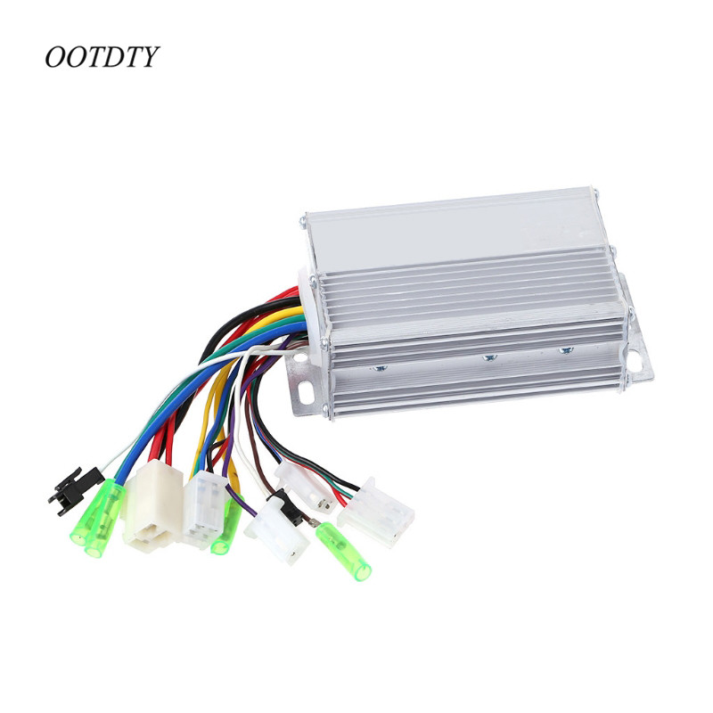 OOTDTY 36V/48V 350W Electric Bicycle E-bike Scooter Brushless DC Motor Controller