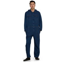 Men Women Workwear Miner Coveralls Protective Coverall Repairman Jumpsuits Working Uniforms Workshop Long Sleevel Coveralls(China)