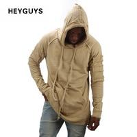 HEYGUYS HOT 2016 Hoodie Men Color Fashion Sweatshirts Brand Orignal Design Sports Suit Pullover For Men