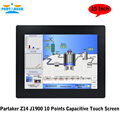 Partaker Z14 2MM Ultra Thin 10 Points Capacitive Touch Screen OEM All In One PC With CPU J1900