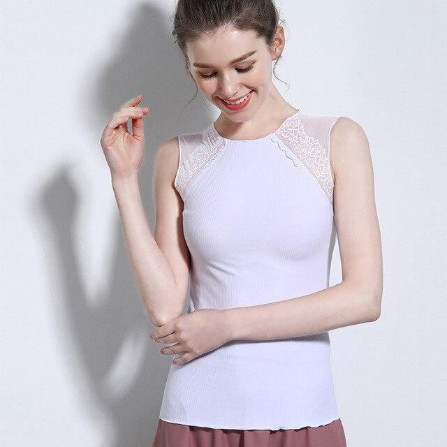 Summer Women's Sleeveless Round Neck Vest Wild Bottoming Shirt