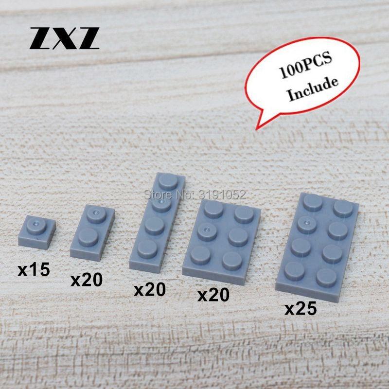 New Lego X25 pieces 1x2x2 Trans Transparent Clear wall panel window glass