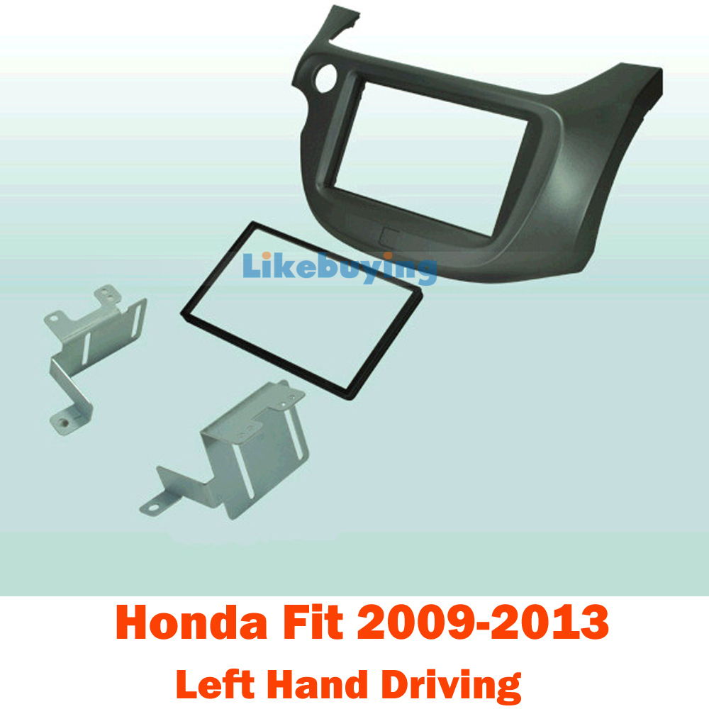 2 din car fascia frame audio panel frame car dash kit for honda fit