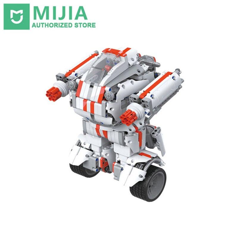 Xiaomi Robot Mitu Building Block Robot Bluetooth Mobile Télécommande 978 Pièces De Rechange Auto-équilibre Système