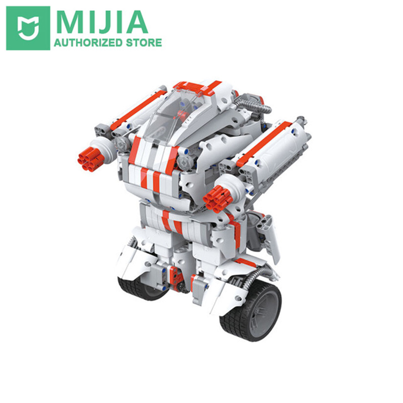Xiaomi Robot Mitu Building Block Robot Cellulare Bluetooth Telecomando 978 Ricambi Auto-bilanciamento del Sistema