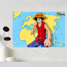 One Piece Anime Canvas Silk Poster Art 18 designs & 3 sizes