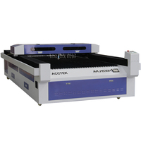 ACCTEK 1530 150W CO2 Cnc Laser Cutter , Metal Laser Cutting Machine for Acrylic , Leather , Rubber