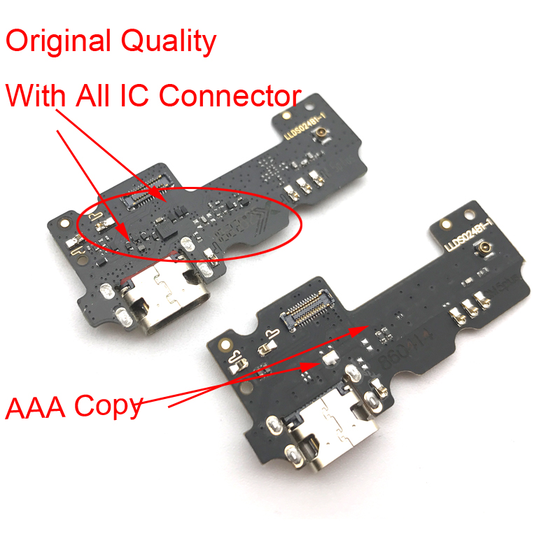 Replacement Parts For Gionee General mobil GM5 GM 5 plus USB Charging Charger Dock Connector Port Plug Flex Cable Board