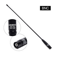 Nagoya NA-771 BNC Dual Band VHF/UHF 144/430MHz Soft Antenna NA771 For Icom IC-V8 IC-V82 IC-V85 TK308 etc Walkie Talkie NA 771(China)