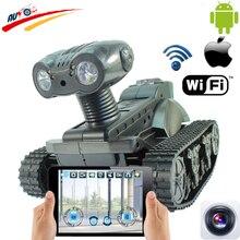 WI-FI RC Танк Радио Управления Роботом Автомобиль в Режиме реального Времени Камера Автомобилей для iPhone Android App Контроллер с 0.3MP Камеры электронные Игрушки