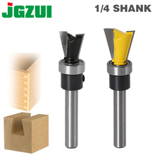 "1pc  14 Degree 1/2"" Dovetail  Router Bit   1/4"" Shank Woodworking cutter Tenon Cutter for Woodworking Tools"