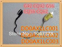 Оригинальный ноутбук жк-видео кабель для Compaq CQ42 G42 G56 CQ56 CQ62 TYCO AX1 P/N DD0AX1LC001 DD0AX1LC002 DD0AX1LC003