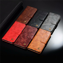 HEMASOLY Case For Huawei Honor 8X Case Flip For Huawei Honor 8X Silicone Case Retro PU Leather Wallet Card Slot Cover genuine quality retro style crazy horse pattern flip pu leather wallet case for huawei honor 9
