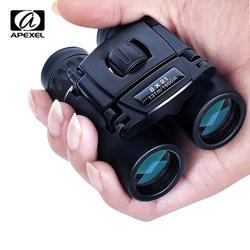 APEXEL 8x21 компактный зум бинокль Long Range 1000 m складной HD мощный мини-телескоп BAK4 оптики FMC охотничьи виды спорта кемпинг
